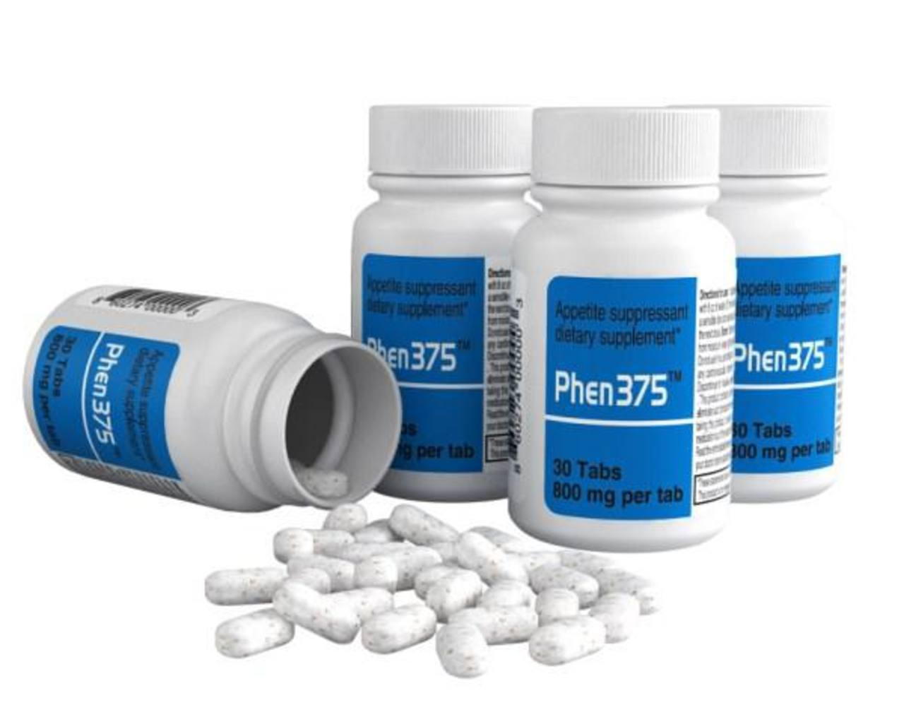 Phen 375 promete perder de tres a cinco libras por semana, quemar grasa, suprimir el apetito.