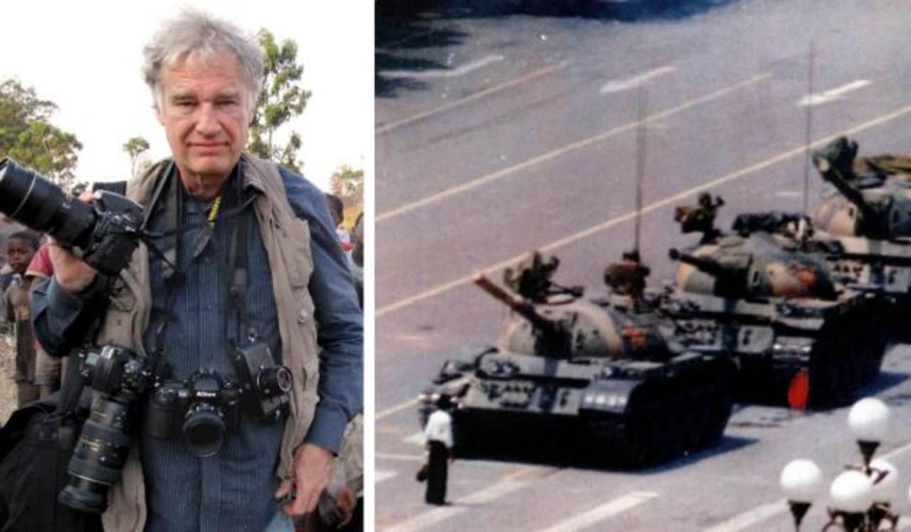 Fotógrafo del Hombre del Tanque en Tiananmen recuerda la historia