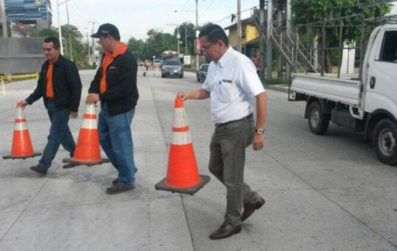 Autoridades del MOP habilitaron dos carriles en la Panamericana