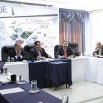La ANEP sostuvo ayer una reunión con el vicepresidente de la República, Óscar Ortiz. Foto EDH / Cortesía
