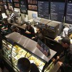 Así lucía hoy la primera tienda que Starbucks abrió en Bogotá, como parte de un plan que incluye un total de 50 en los próximos cinco años.