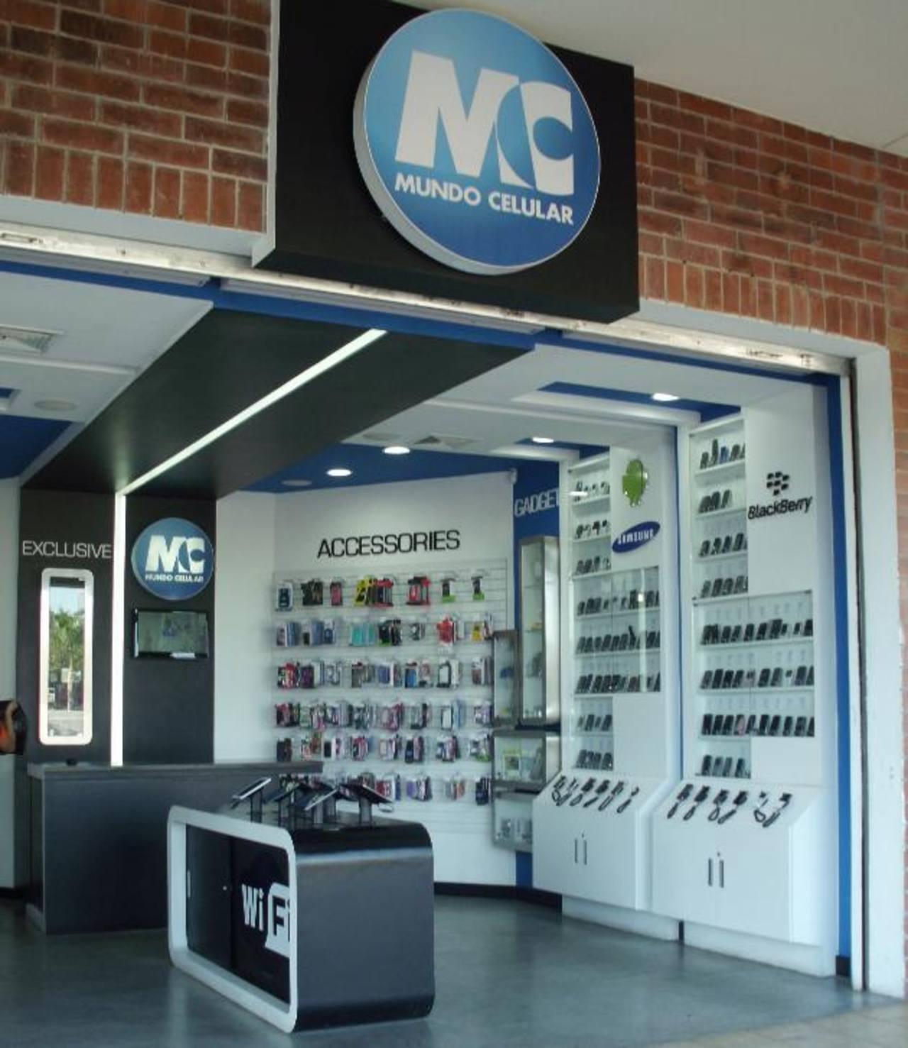 Mundo Celular tiene una red de quioscos en los principales centros comerciales del país. Foto CORTESÍA