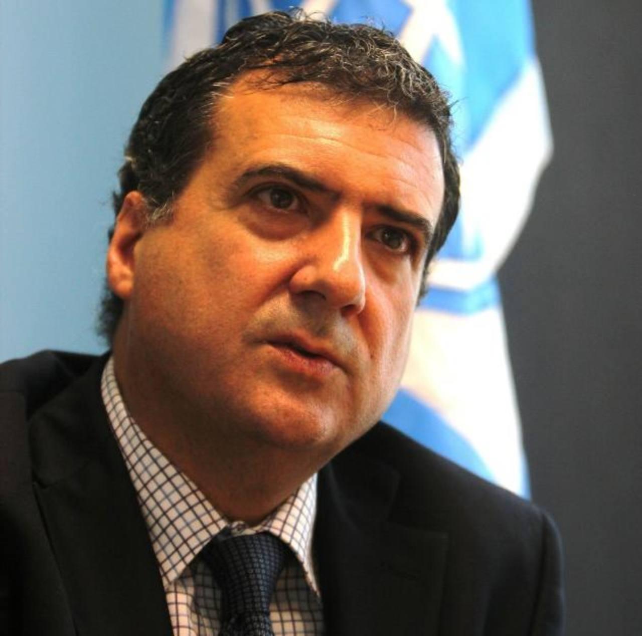 Humberto López asumió hoy el cargo de director del Banco Mundial para Centroamérica.