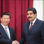El mandatario Xi Jinping, de China, y Nicolás Maduro de Venezuela