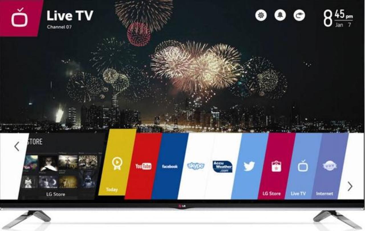 """El sistema operativo del """"Smart TV"""" es el """"webOS"""" que permite a los usuarios cambiar rápida y fácilmente entre una amplia variedad de contenido y servicios a través de su menú."""
