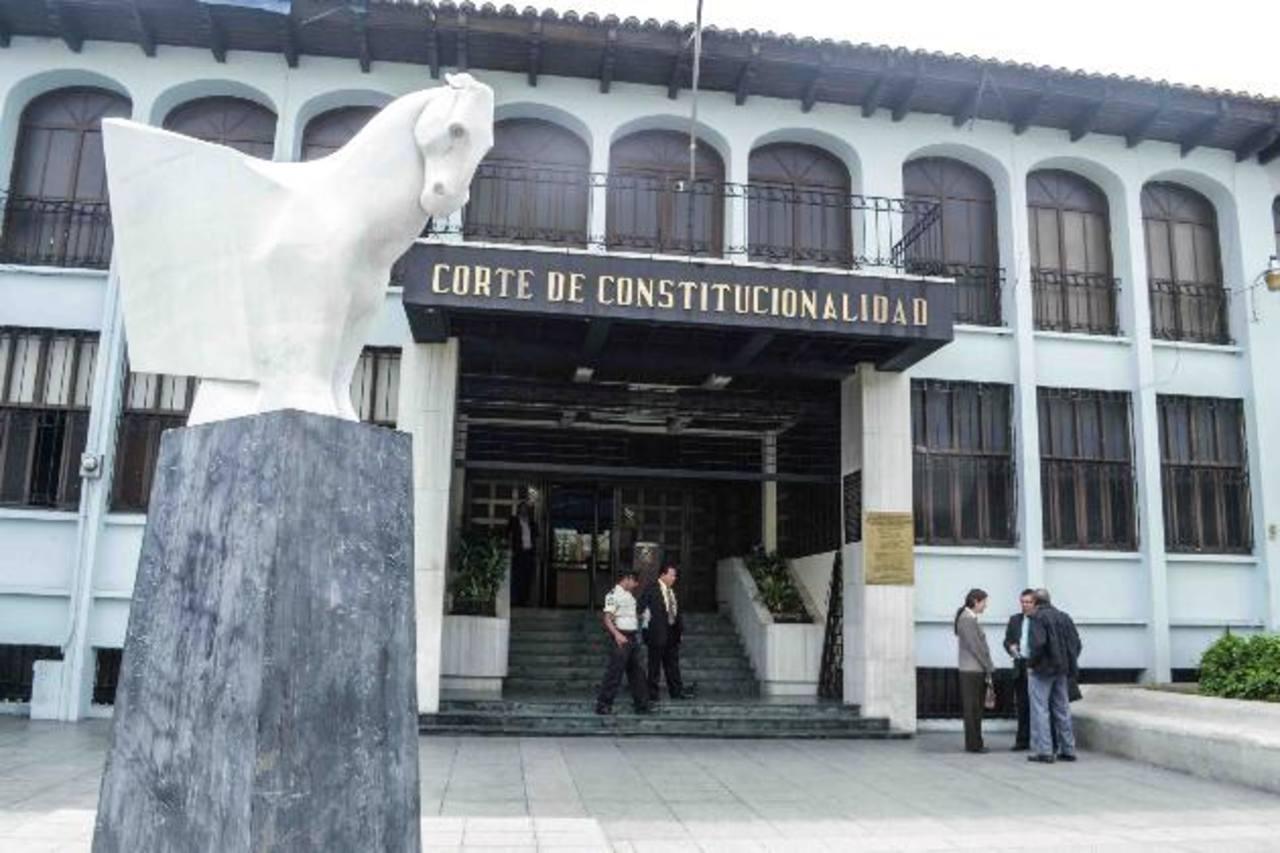 La Corte de Constitucionalidad de Guatemala tiene 148 acciones contra las reformas fiscales. Han prosperado 6 % de las impugnaciones.