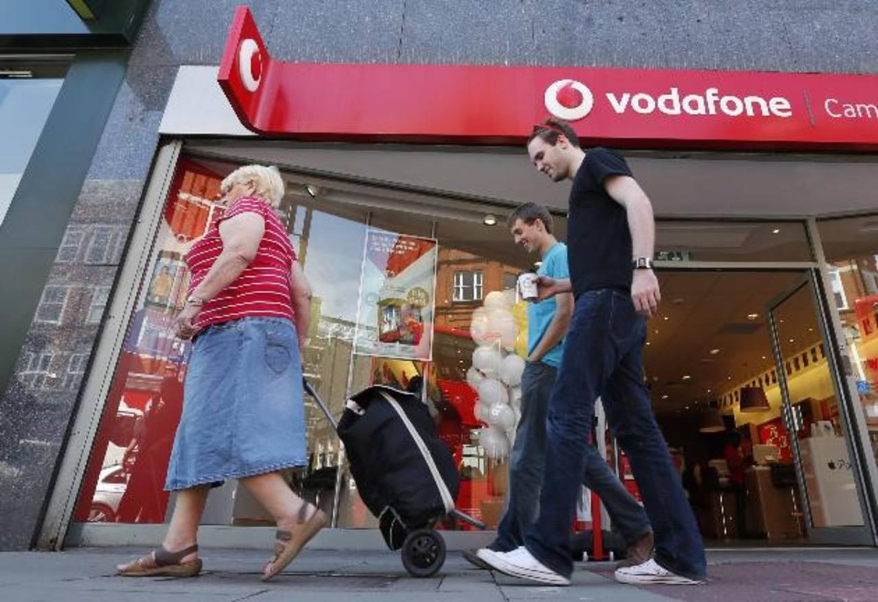 Vodafone prefiere invertir en India, Europa y África.