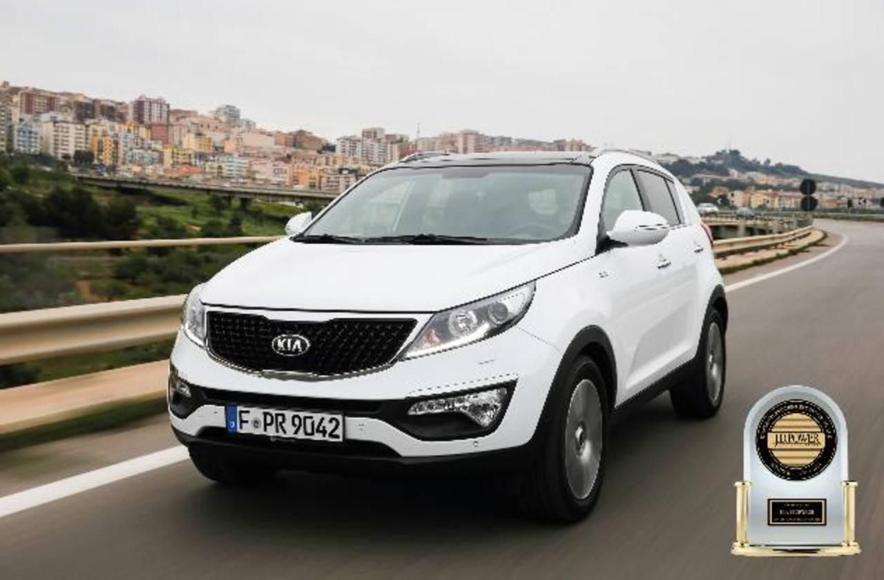 El Kia Sportage, anotando una satisfacción del conductor de 83.6%, es el SUV compacto más satisfactorio para poseer, según el estudio de J.D. Power 2014 VOSS, de Alemania.