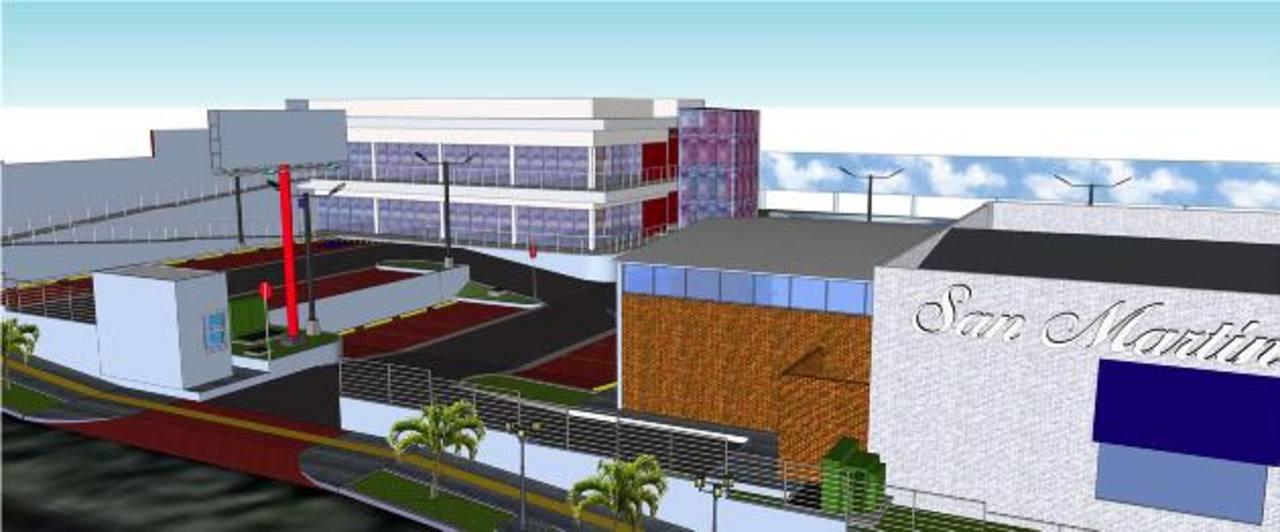 El centro comercial se ubica entre la calle El Jabalí y el bulevar Merliot, y tiene acceso directo al bulevar Monseñor Romero. Foto de EXPANSIÓN/ CORTESÍA de GRUPO ADEBIEN