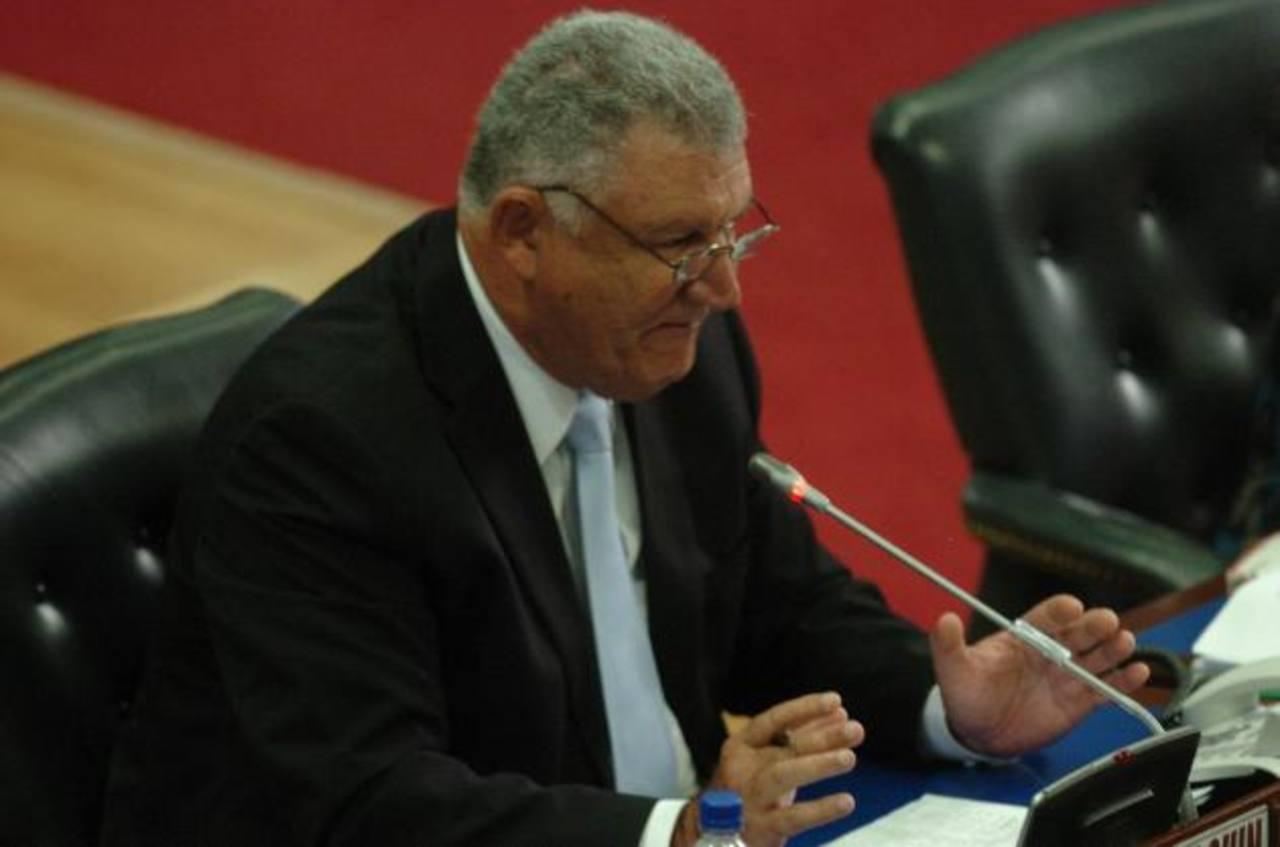 Diputado de ARENA, Mario Marroquín.