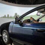 """Obama se """"marea"""" al probar un simulador de conducción"""