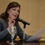 Ana Vilma de Escobar, de ARENA, pidió a los diputados ser conscientes para decidir su caso hoy en el pleno. foto edh /