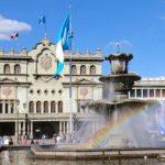 El Palacio Nacional de la Cultura está localizado en el centro histórico de Ciudad Guatemala.