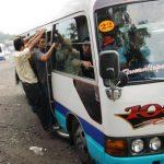 Rutas de transporte colectivo vuelven a trabajar