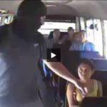 Video: Captan asalto en microbús de la ruta 42