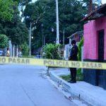 En el cantón La Palma, de San Martín, fue asesinado un hombre que había sido deportado de EE. UU. Foto EDH/ Jorge Reyes.