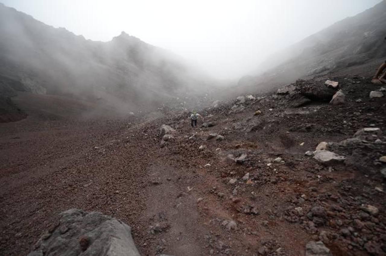 La sismicidad ha incrementado en las última horas y crece la posibilidad de una nueva erupción. Foto edh / archivo