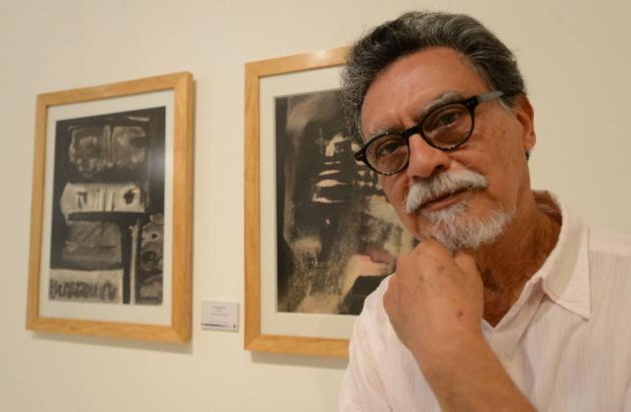 El artista plástico carga a sus espaldas una historia de cinco décadas. Foto EDH / Mauricio Cáceres
