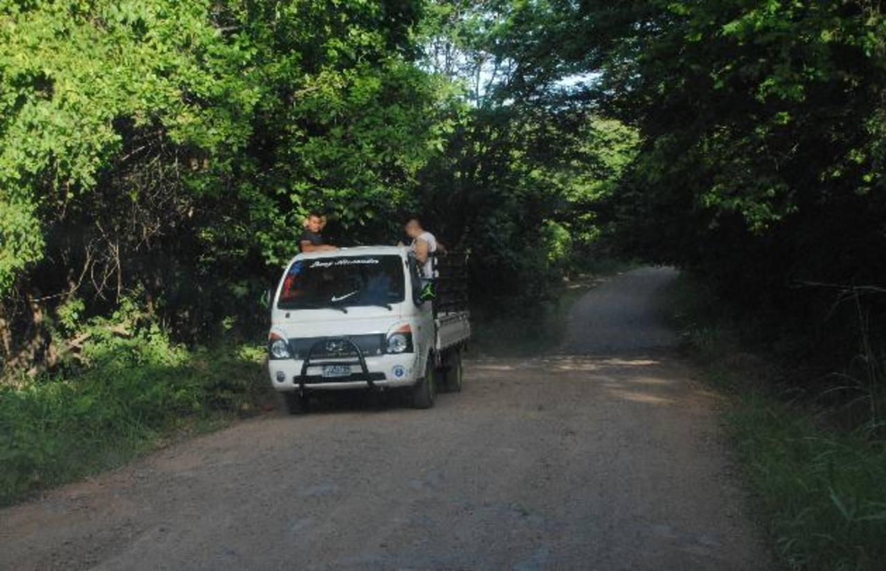 La calle a Chiquirín y Playitas ha registrado en las últimas semanas varios casos de asaltos a buses y carros particulares.
