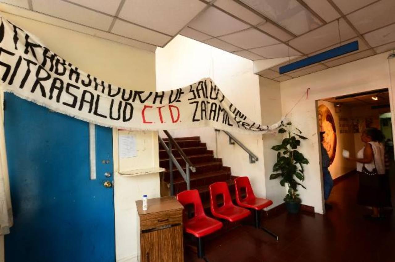 En el hospital Zacamil hubo protestas sindicales esta semana, ocasionadas por problemas laborales. Foto EDH