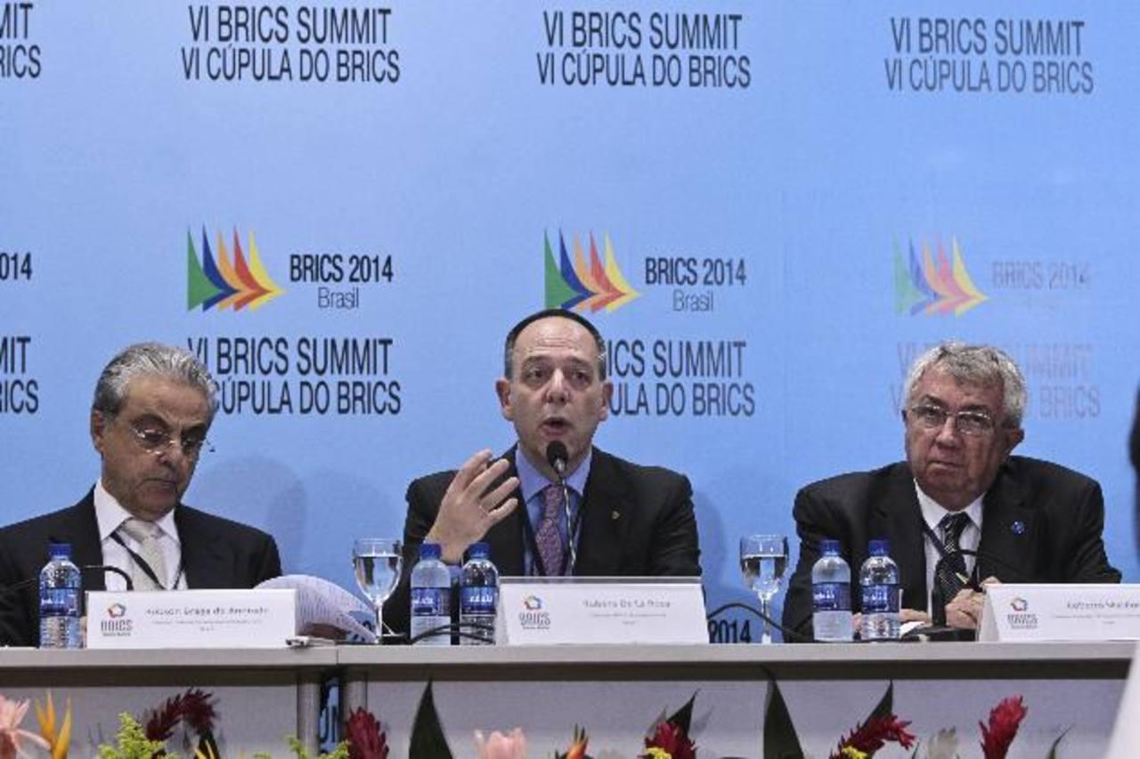 La cumbre de presidentes del BRICS se realizará esta semana en la ciudad de Fortaleza, Brasil.