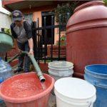 Anuncian servicio irregular de agua para mañana