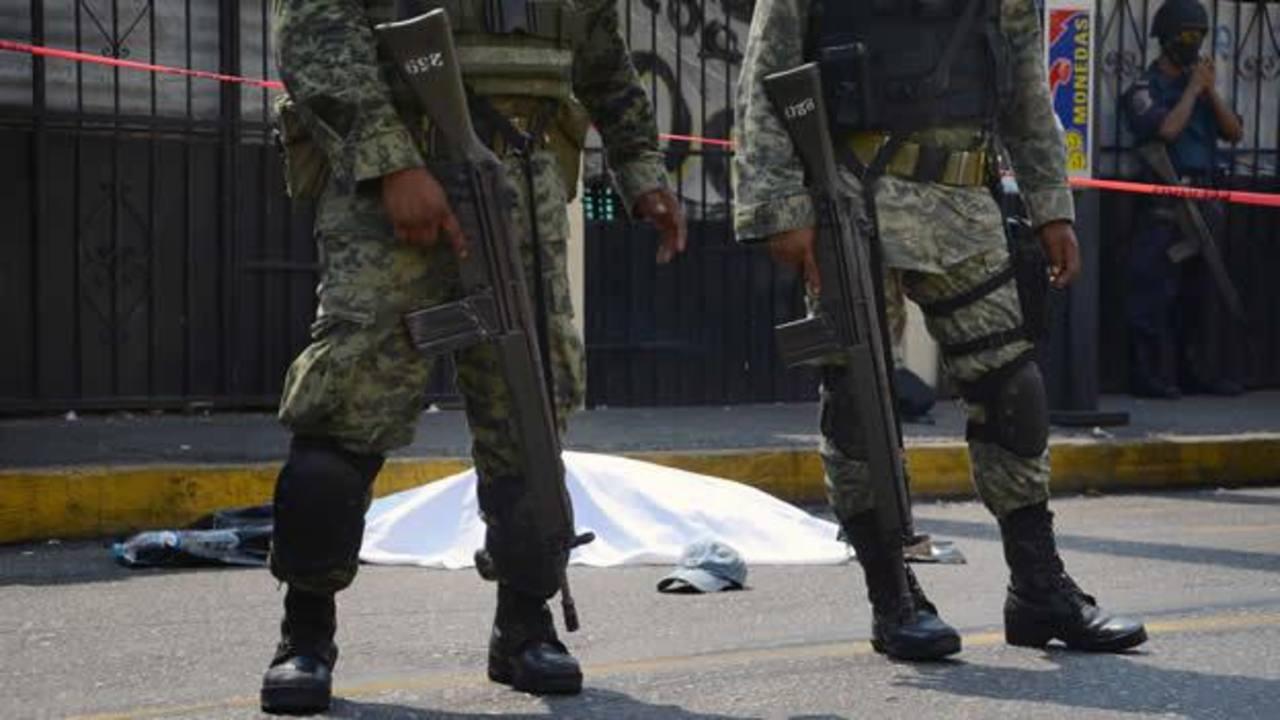 El estado de Guerrero registra violencia de grupos delictivos.