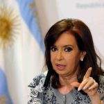 Cristina Fernández afectada por faringolaringitis