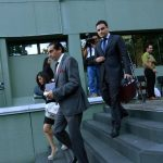 Los abogados de los canales afectados llegaron el pasado 3 de julio a la Superintendencia.
