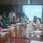 Sesión de la comisión de Relaciones Exteriores (RREE) de la Asamblea Legislativa