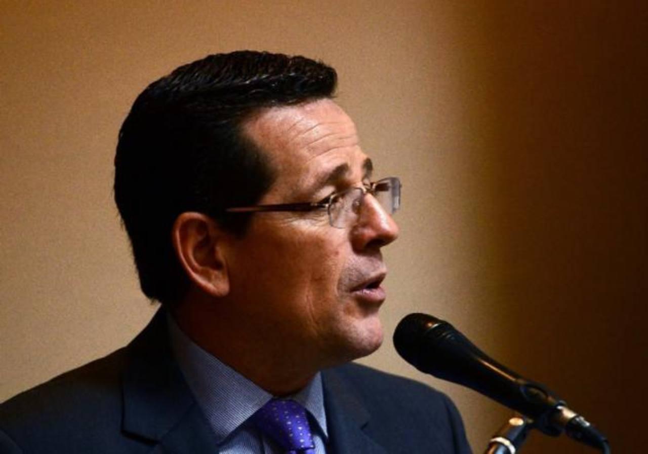 Jorge Velado, presidente del Coena