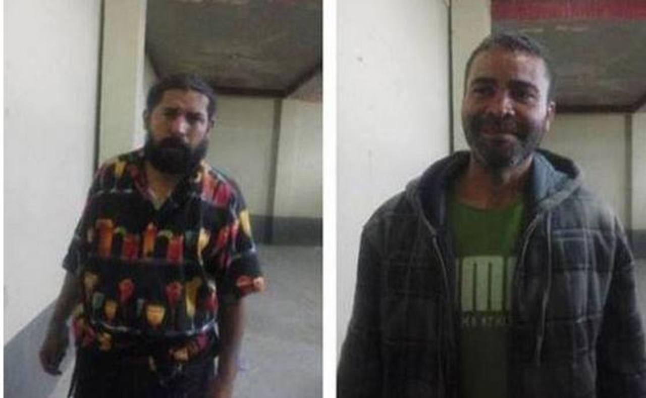 Osman René Cortez, de 37 años, de nacionalidad hondureña y Carlos Eduardo Rivas Barranza, de 42 años, de origen salvadoreño,
