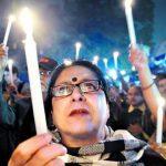 Gran protesta en India tras violación de una niña