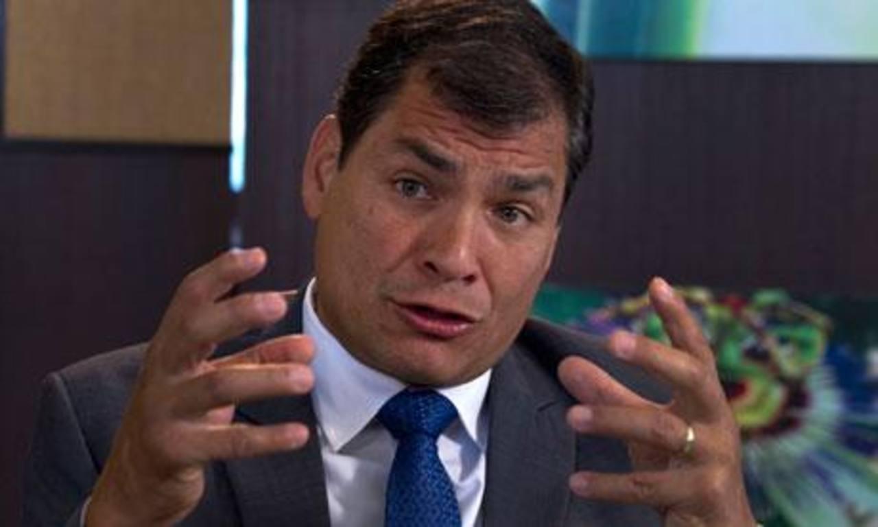 El gobernante ecuatoriano, Rafael Correa. foto edh / archivo