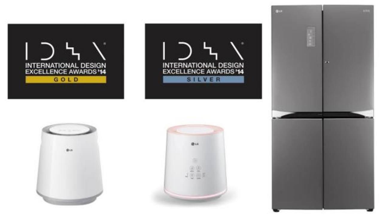 Reconocen los trabajos de diseño de LG en el Idea Awards