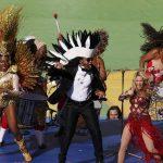 Shakira movió sus caderas en el Maracaná