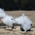 Palestinos dispararon hoy contra Israel 107 cohetes