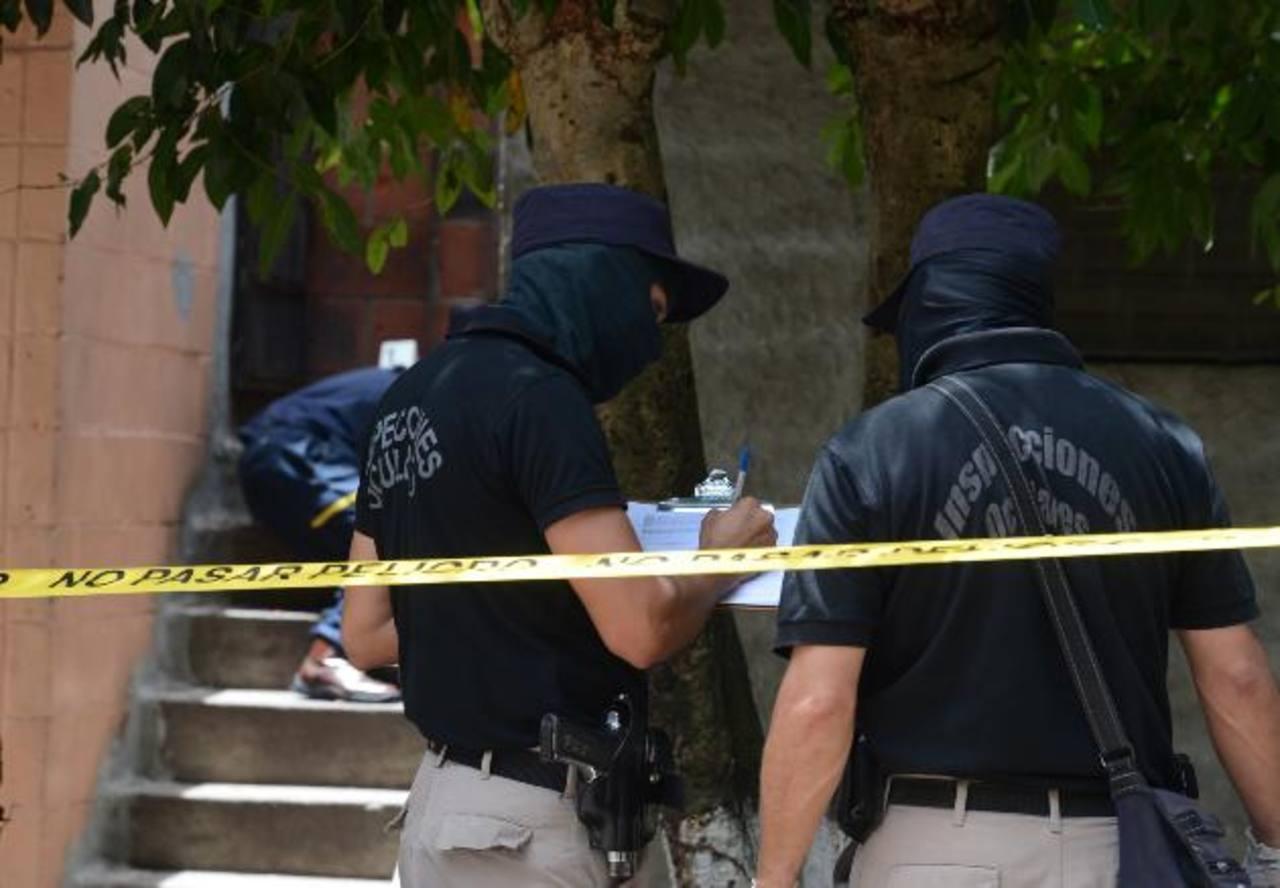 Pandilleros de la 18 habrían matado a socorrista en colonia Cayalá, por considerarlo rival. Foto EDH / Mauricio Cáceres
