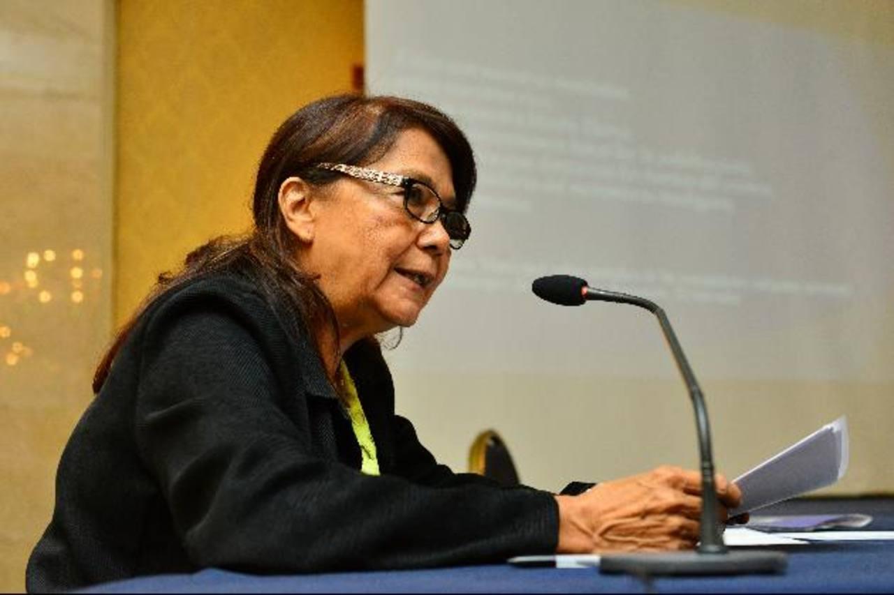 La funcionaria está construyendo el Plan Estratégico que dará vida al Instituto Superior en Formación Artística. Foto edh/ARCHIVO