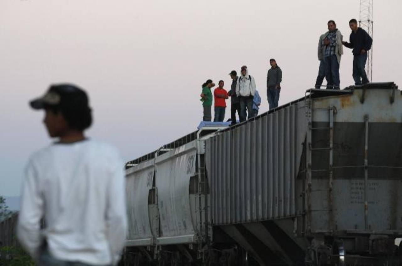 Inmigrantes usan el tren para llegar a EE. UU. foto edh / archivo