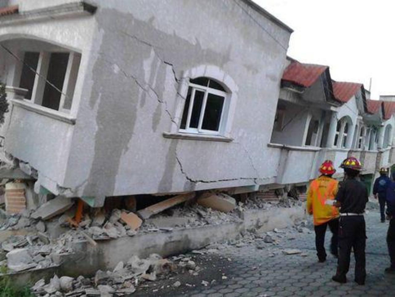Tres muertos en Guatemala y uno en México por terremoto