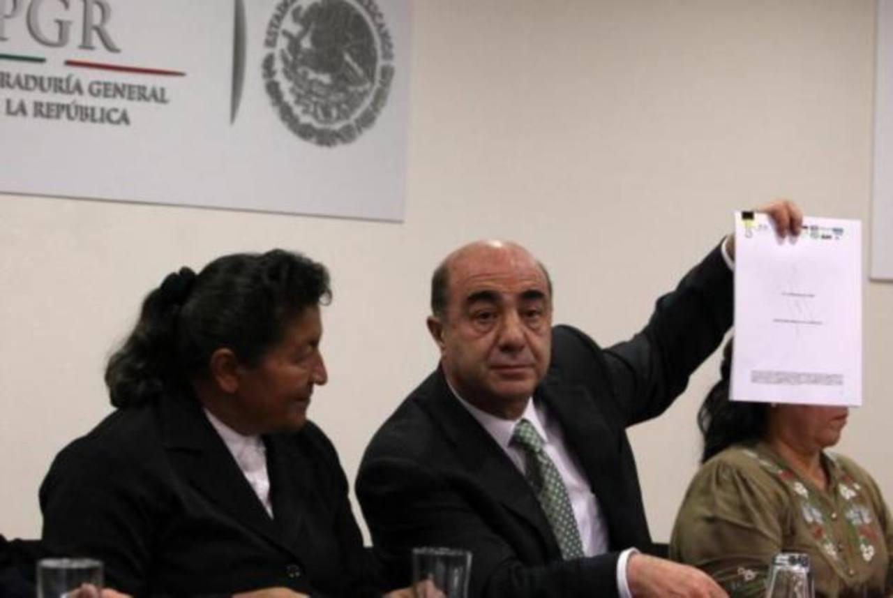 El fiscal general mexicano, Jesús Murillo, dijo que el rescate se logró luego de varias denuncias. Foto EDH / efe