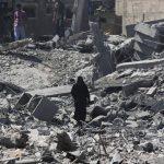 Algunas zonas de Palestina han sido destruidas durante los bombardeos de Israel