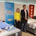 Durante la presentación, se dieron a conocer las ventajas de las camas de Indufoam. Foto EDH / David Rezzio