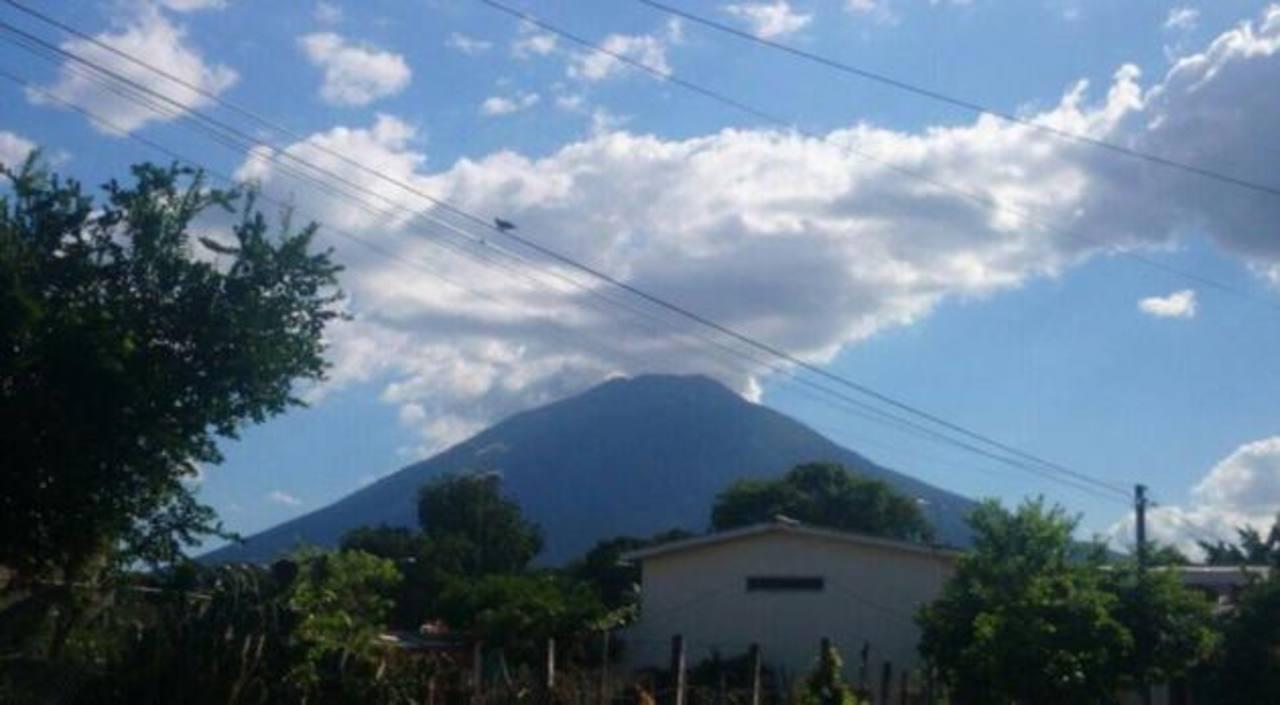 Aumenta sismicidad del volcán de San Miguel