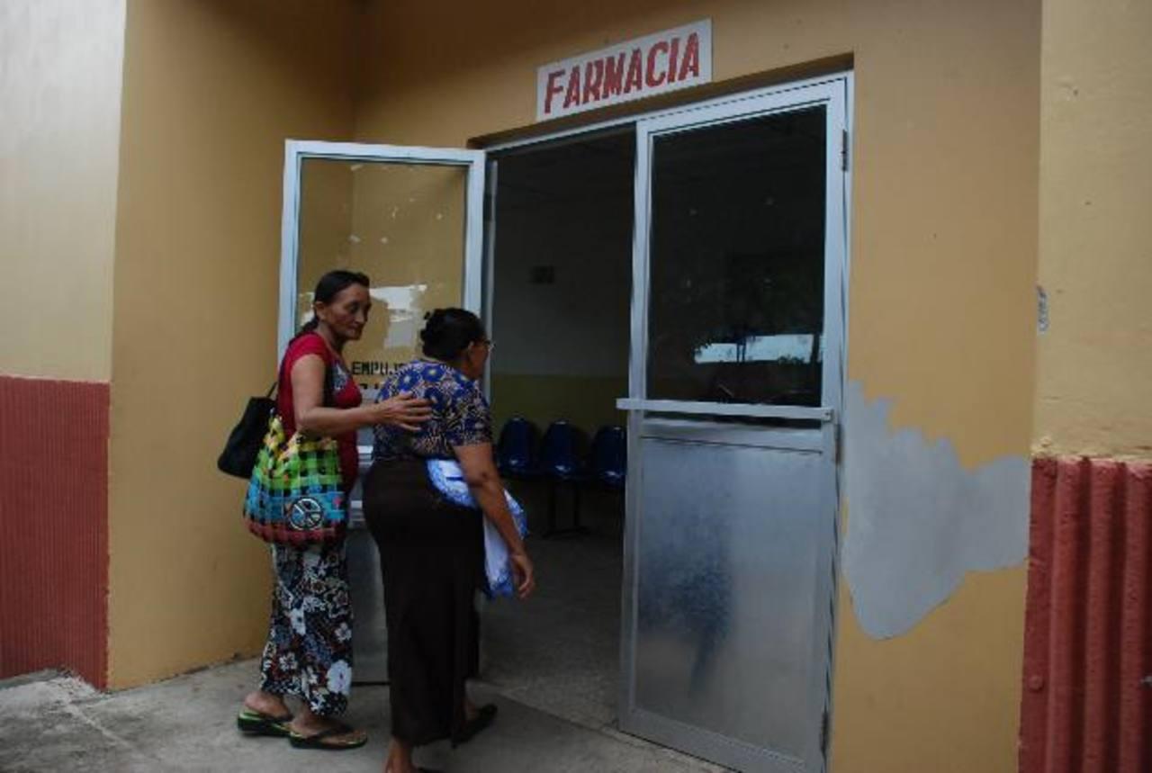 En el sanatorio San Pedro , de Usulután, había un desabastecimiento del 34.3 %; es decir, que faltaban 86 productos, según el reporte, del 9 al 15 de junio, de Salud. Foto EDH
