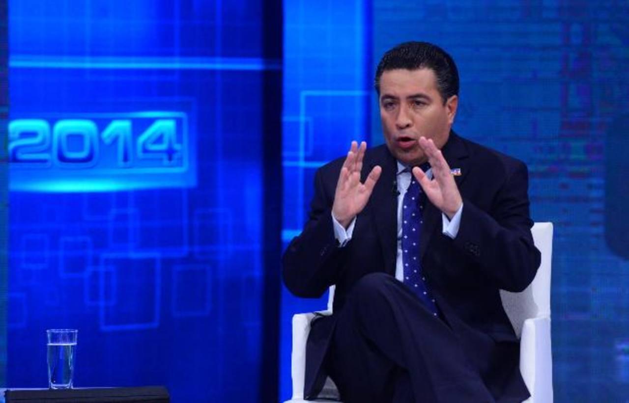 René Portillo Cuadra aspira ser diputado de ARENA