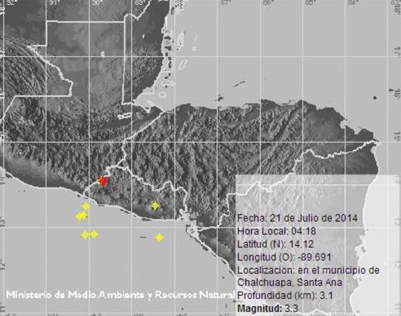 Dos sismos sacuden varias zonas de El Salvador