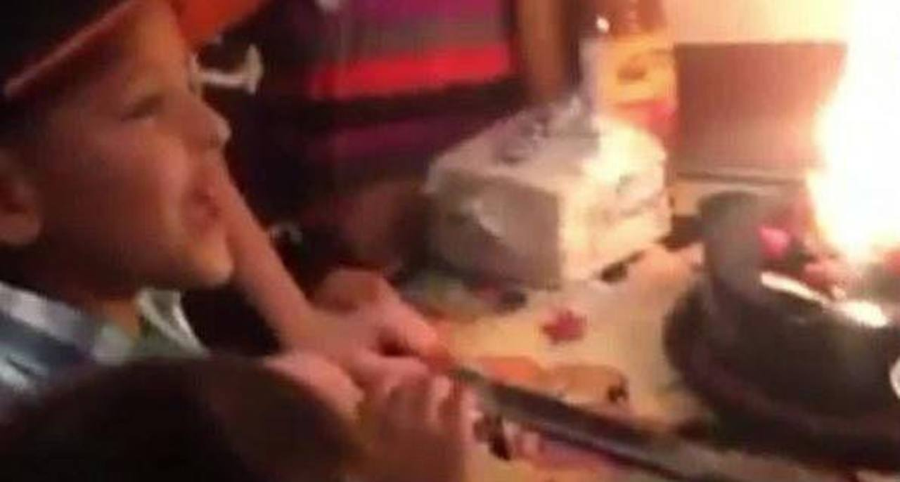 Captan en video ataque armado ocurrido en fiesta infantil