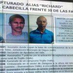 """Detienen a """"Richard"""", importante guerrillero de las FARC"""
